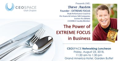 CEOSPACE International - Utah Chapter August 2019 Monthly Luncheon
