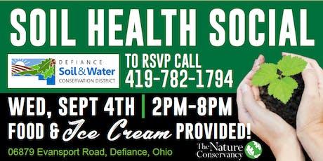 Soil Health Social tickets