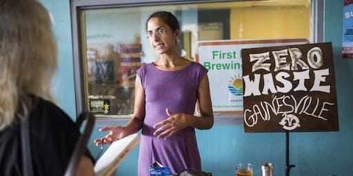 LWVAC 2019 Fall Luncheon with Nina Bhattacharyya of Zero Waste Gainesville
