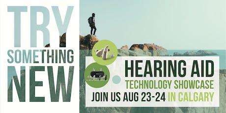 FREE Hearing Aid Technology Showcase (Calgary) tickets