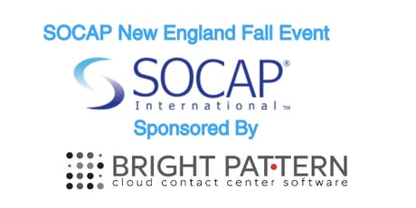 Fall Kick Off Event with SOCAP New England - Contact Center Ideas & Innovations Tour tickets