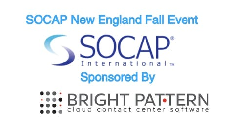 Fall Kick Off Event with SOCAP New England - Contact Center Ideas & Innovations Tour