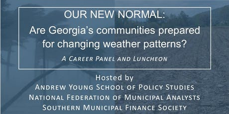 Our New Normal: Are Georgia's communities prepared for changing weather? tickets