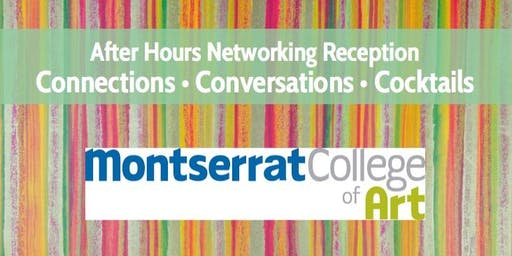 Wed., September 25th After Hours at Montserrat College 301 Cabot Street Gallery