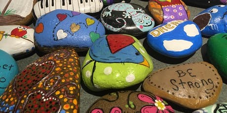 Rock Painting for Teens and Adults tickets