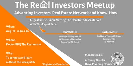 The Real Investors Meetup tickets