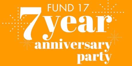 Fund 17 Anniversary Party tickets