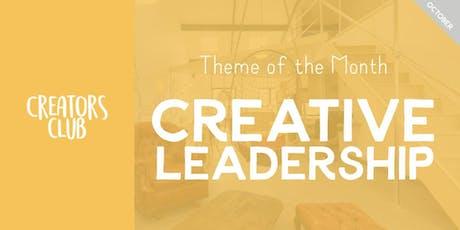 Creators Club in London | Creative Leadership tickets