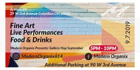 Modern Organix Presents: Gallery Hop September tickets
