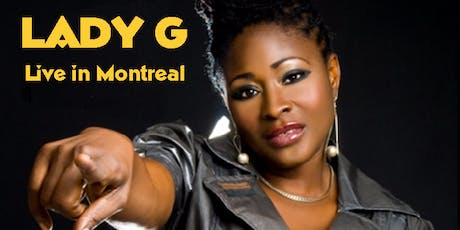 Lady G Montreal tickets