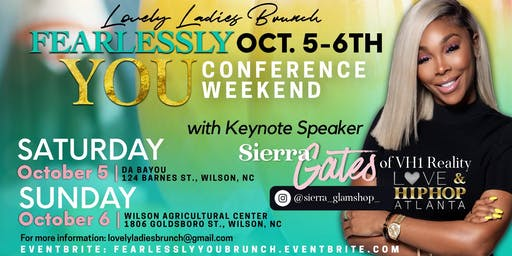 Fearlessly You Brunch and Concert