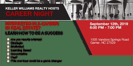Career Night - Sept. 12th tickets