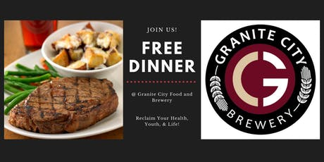 FREE Dinner @ Granite City Food and Brewery tickets