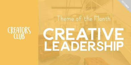 Creators Club in Bristol | Creative Leadership tickets