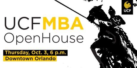 UCF MBA Open House 10-03-2019 tickets