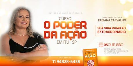 CURSO O PODER DA AÇÃO - IMERSÃO DE 8 HORAS ingressos