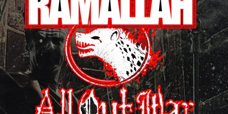 Ramallah, All Out War, Crimson Mask, Departed, Beast, Shun tickets