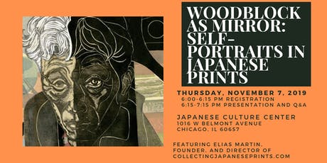 Woodblock as Mirror: Self Portraits in Japanese Prints tickets
