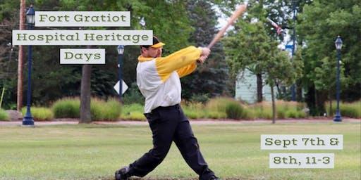 Fort Gratiot Hospital Heritage Days