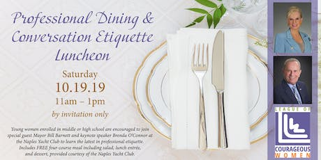 Professional Dining and Conversation Etiquette tickets