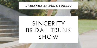 Sincerity Bridal Trunk Show