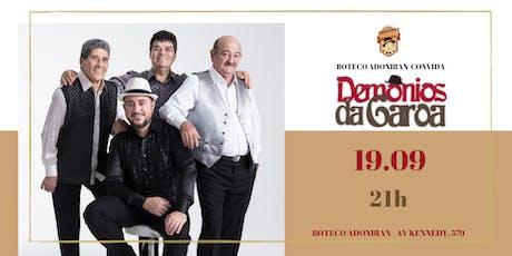 Boteco Adoniran convida: Demônios da Garoa ingressos