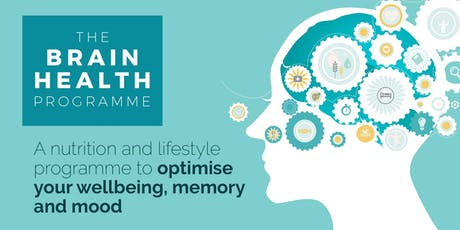 Introduction to Brain Health: optimise your wellbeing, memory and mood tickets