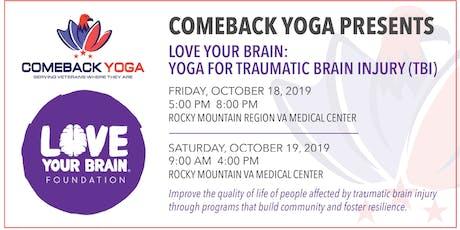 Yoga for Traumatic Brain Injury (TBI) tickets