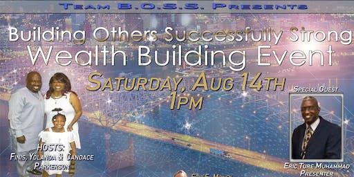 Golden Wealth Building Event