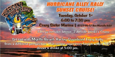 Sunset Cruise with Myrtle Beach Harley-Davidson tickets