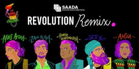 """Revolution Remix"" Concert tickets"