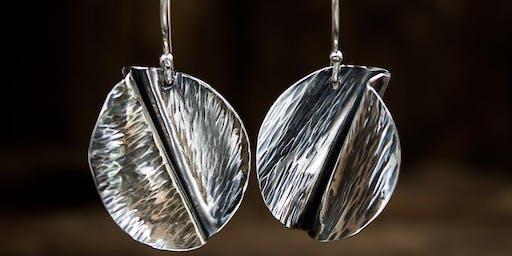 Folded Form Earrings