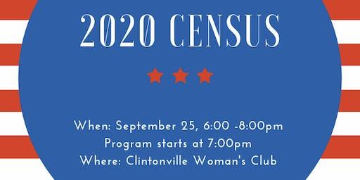 Census 2020 Dinner Meeting