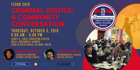 [FICON 2019] Criminal Justice: A Community Conversation tickets