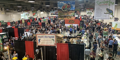 Reptile Super Show (Anaheim- Orange County) 1 DAY PASS January 4-5, 2020