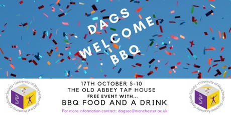 DAGS Welcome BBQ tickets