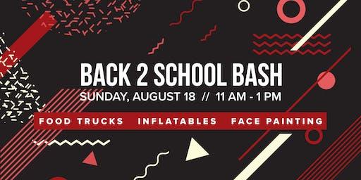 Back 2 School Bash