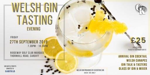 Welsh Gin Tasting Evening