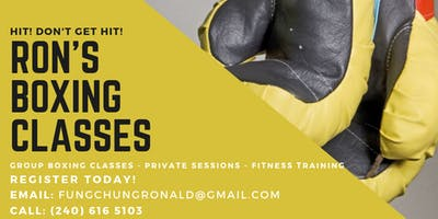Ron's Group Boxing Classes