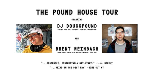 DJ Douggpound & Brent Weinbach at Ace of Cups