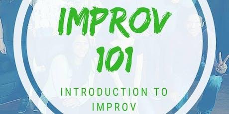 Improv 101: Introduction to Improv tickets