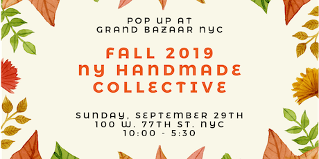 NY Handmade Collective Pop-up - Fall tickets