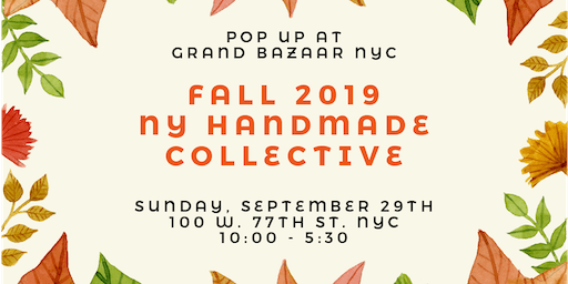 NYC Fall 2019 Handmade Collective Pop-Up