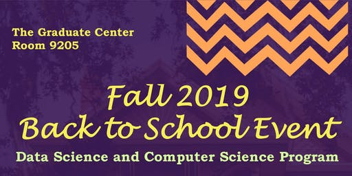 Fall 2019 Back to School Event