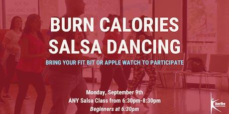 Burn Calories SALSA dancing! tickets