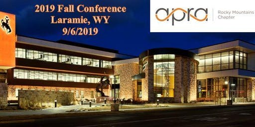 Apra Rocky Mountains 2019 Fall Conference