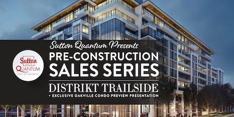 Pre-Construction Sales Series: Distrikt Trailside tickets