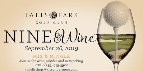 Talis Park's Nine & Wine Mix & Mingle tickets