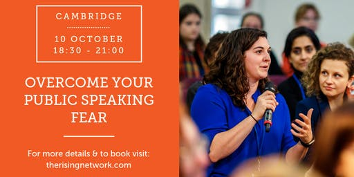 Overcome Your Public Speaking Fear Workshop