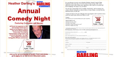 Heather Darling's Annual Comedy Night